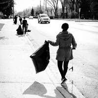 Staff and clients at MJMC participate in Moose Jaw's City Wide Clean Up